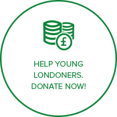 Help young Londoners. Donate NOW!