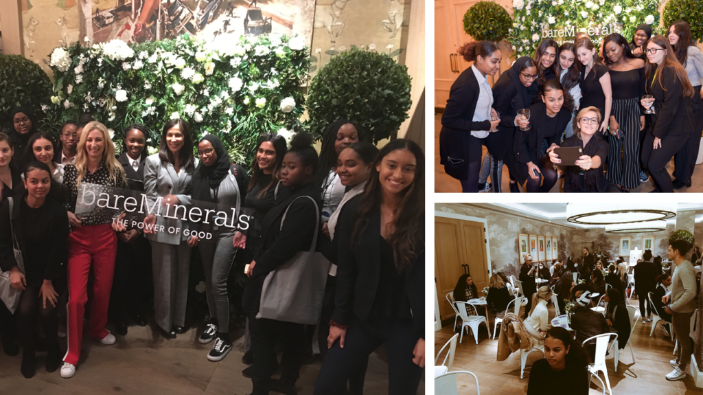 bareMinerals event with Access Aspiration
