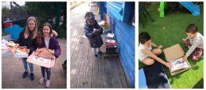 MFL Champions for Children Kitchen Social collage